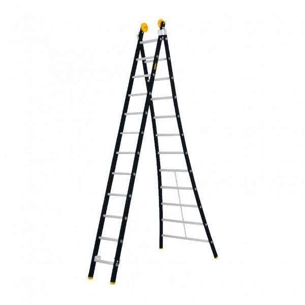 Tweedelige ladder