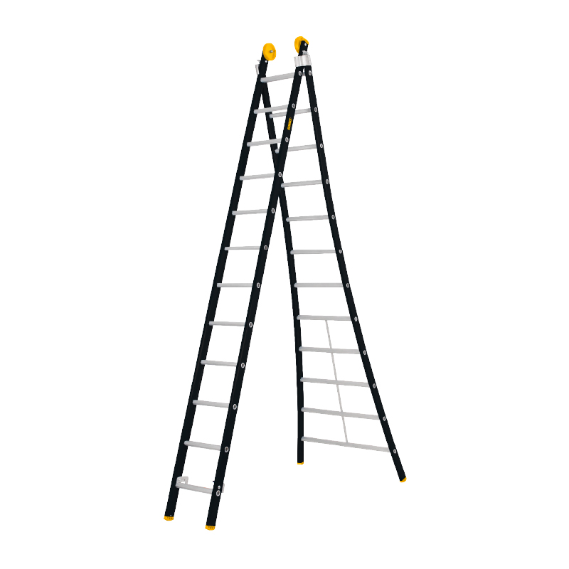 Tweedelige ladder